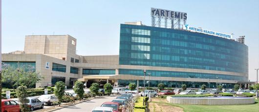 Artemis hospital Gurgaon India